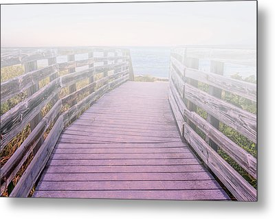 Into The Mist Metal Print by Swank Photography
