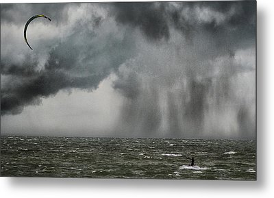 Into The Storm Metal Print by Martin Newman