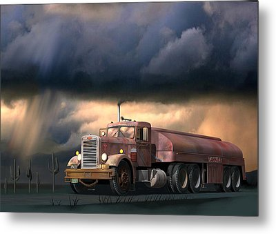 Into The Storm Metal Print by Stuart Swartz