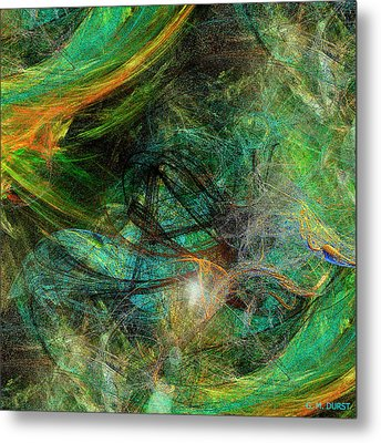 Intricate Love Metal Print by Michael Durst