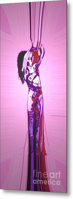 Metal Print featuring the painting Intwined by Tbone Oliver