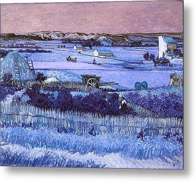 Inv Blend 18 Van Gogh Metal Print