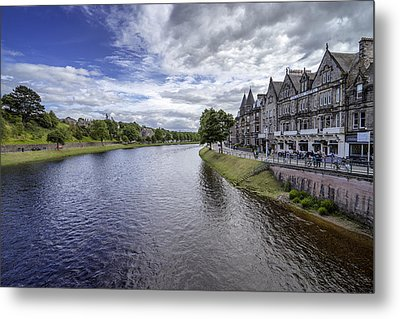 Metal Print featuring the photograph Inverness by Jeremy Lavender Photography