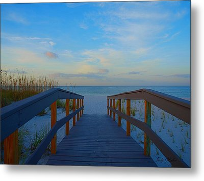 Invitation To Serenity Metal Print