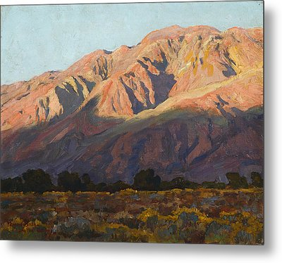 Inyo Range At Sunset Metal Print by Celestial Images