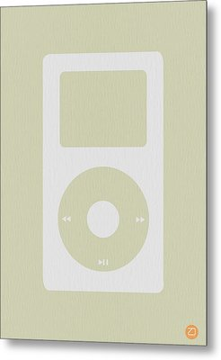 iPod Metal Print by Naxart Studio