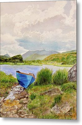Metal Print featuring the painting Ireland by Carol Flagg