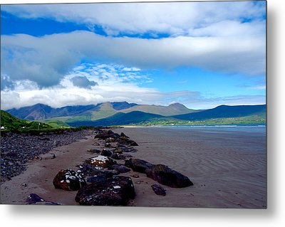 Beach Metal Print by Original Art For your home