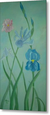 Iris Dreams Metal Print by Alanna Hug-McAnnally