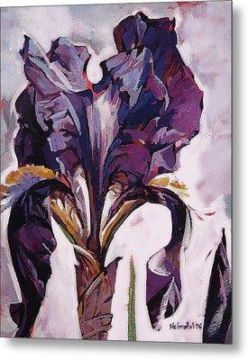 Iris Spring Metal Print by Tim  Heimdal