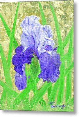 Iris Valor Metal Print