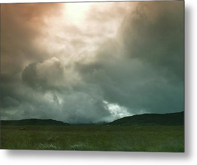 Metal Print featuring the photograph Irish Atmospherics. by Terence Davis