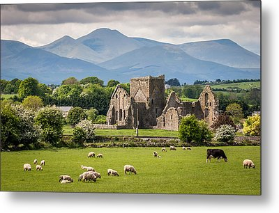 Irish Country Side Metal Print
