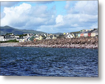 Irish Seaside Village - Co Kerry  Metal Print