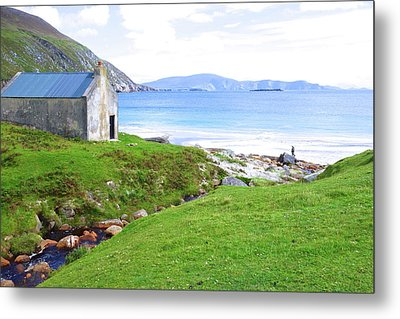 Irish Treasures.. Past And Present Metal Print by Charlie and Norma Brock