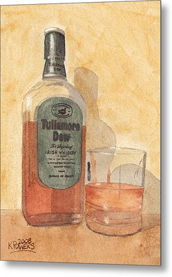 Irish Whiskey Metal Print by Ken Powers