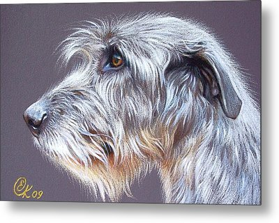 Irish Wolfhound  2 Metal Print