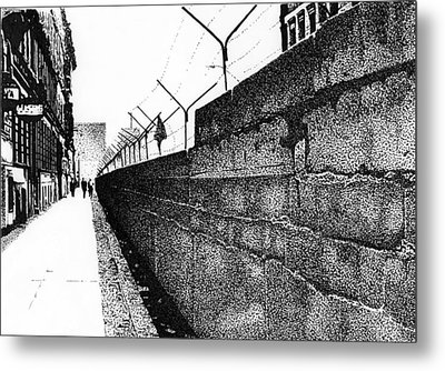 Iron Curtain Metal Print by Lyle Brown