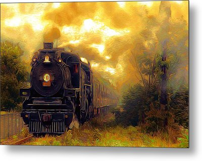Metal Print featuring the photograph Iron Horse by Aaron Berg