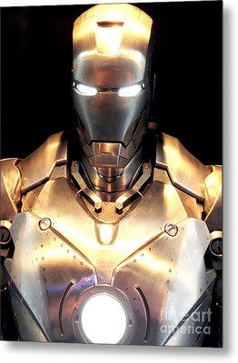 Iron Man 3 Metal Print by Micah May