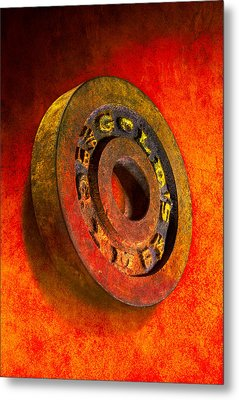 Iron Plate Metal Print by YoPedro