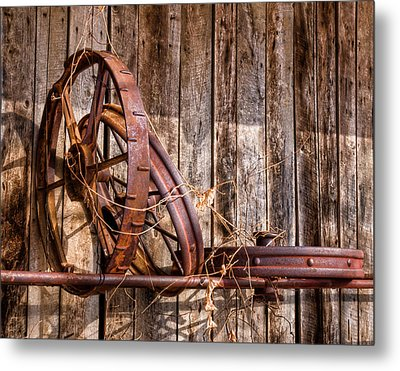 Iron Metal Print by Ron  McGinnis