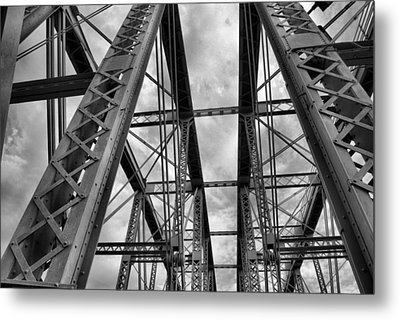 Iron Work Metal Print by Russell Todd