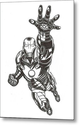Ironman Metal Print by MoryDeCrazy