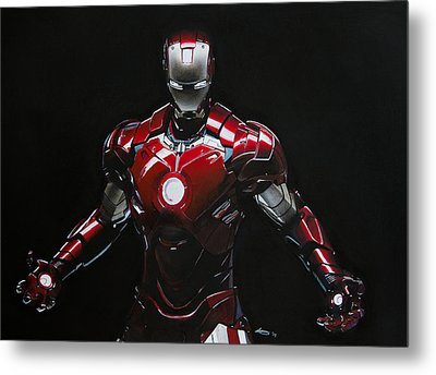 Ironman Metal Print by Robert Bateman