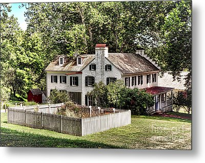 Ironmaster Mansion At Hopewell Furnace  Metal Print