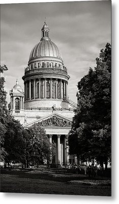 Isakievsky Cathedral Metal Print by Konstantin Dikovsky