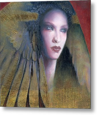 Metal Print featuring the painting Isis by Ragen Mendenhall