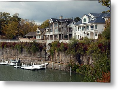 Metal Print featuring the photograph Island Living by Kathleen Stephens