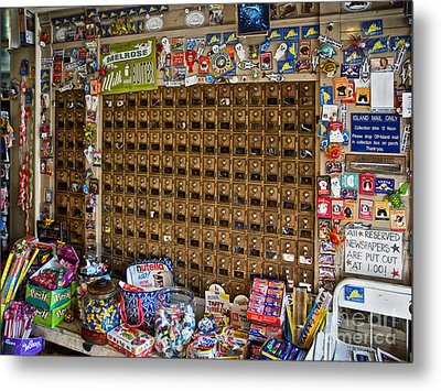 Island Mail Metal Print by Mark Miller
