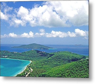 Metal Print featuring the photograph Island Paradise by Gary Wonning
