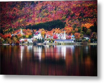 Island Pond Vermont Metal Print by Sherman Perry