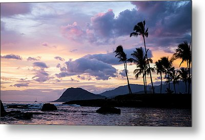 Metal Print featuring the photograph Island Silhouettes  by Heather Applegate