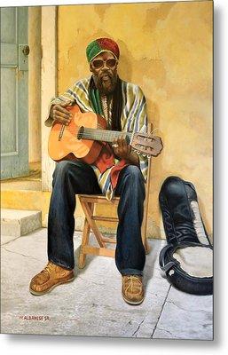 Caribbean Soul Metal Print by William Albanese Sr