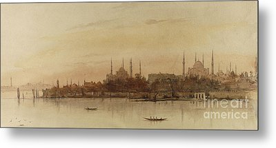 Istanbul Metal Print by Alfred de Courville