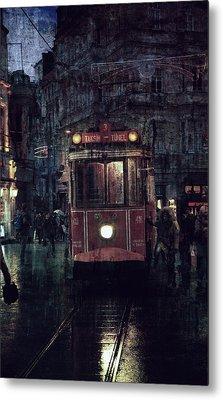 Istanbul Metal Print by Vittorio Chiampan