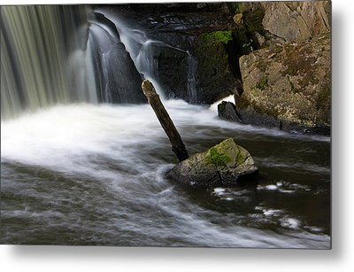 It Looks Like A Lever... Metal Print by Jeff Severson