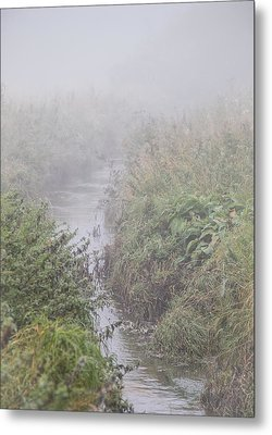 It Flows From The Mist Metal Print by Odd Jeppesen