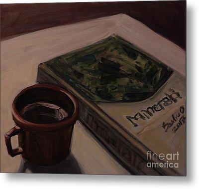 It Is Coffee Time Metal Print