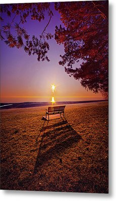 Metal Print featuring the photograph It Is Words With You I Seek by Phil Koch