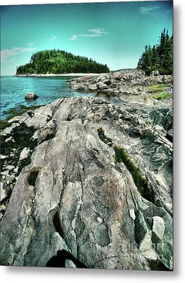 Metal Print featuring the photograph It Rocks  by Aimelle