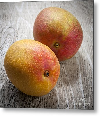 It Takes Two To Mango Metal Print by Elena Elisseeva