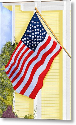 It Will Fly Until They All Come Home Metal Print by Anne Norskog