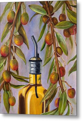 Metal Print featuring the painting Italian Delight by Susan Dehlinger