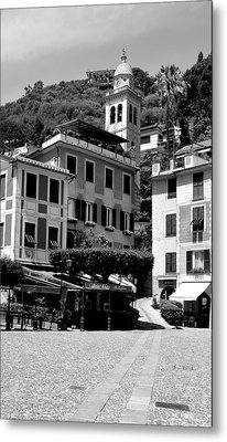 Italian Riviera Metal Print by Corinne Rhode