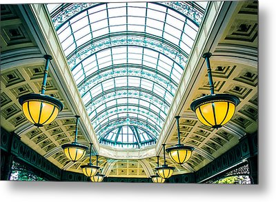 Metal Print featuring the photograph Italian Skylight by Bobby Villapando